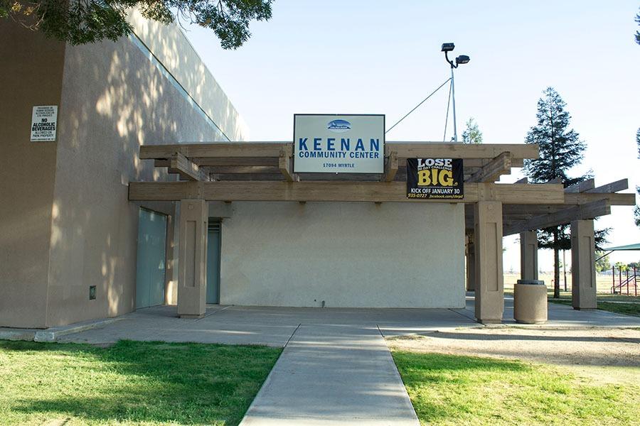 keenan community center building