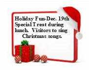 Holiday Fun December 19th