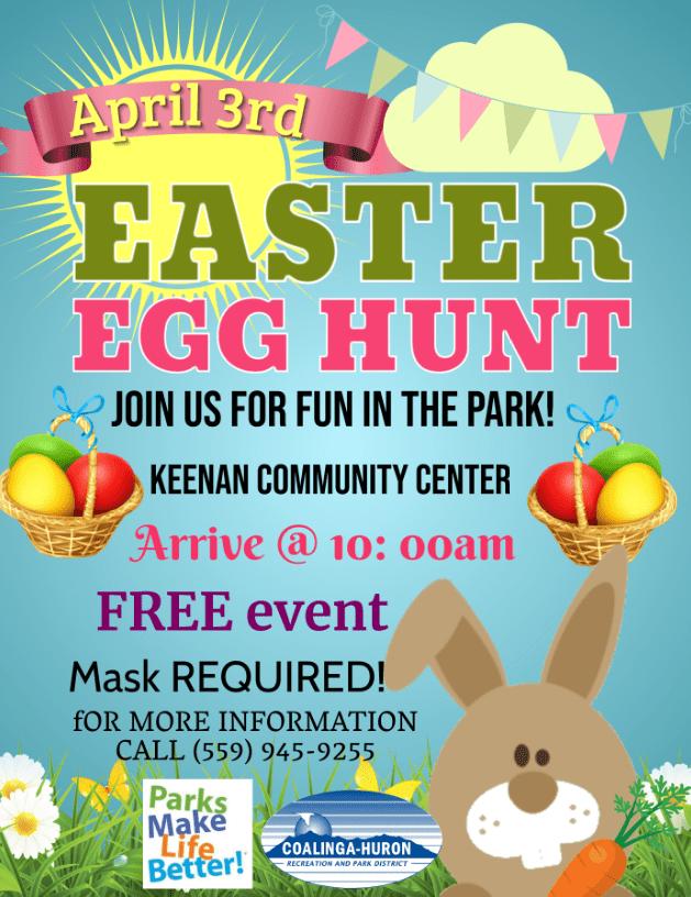 Huron Easter Egg Hunt 2021