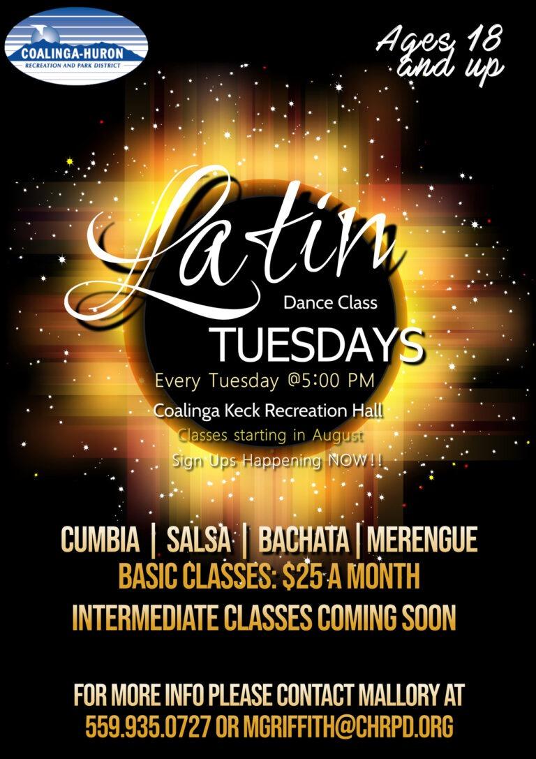 Latin Dance Tuesday