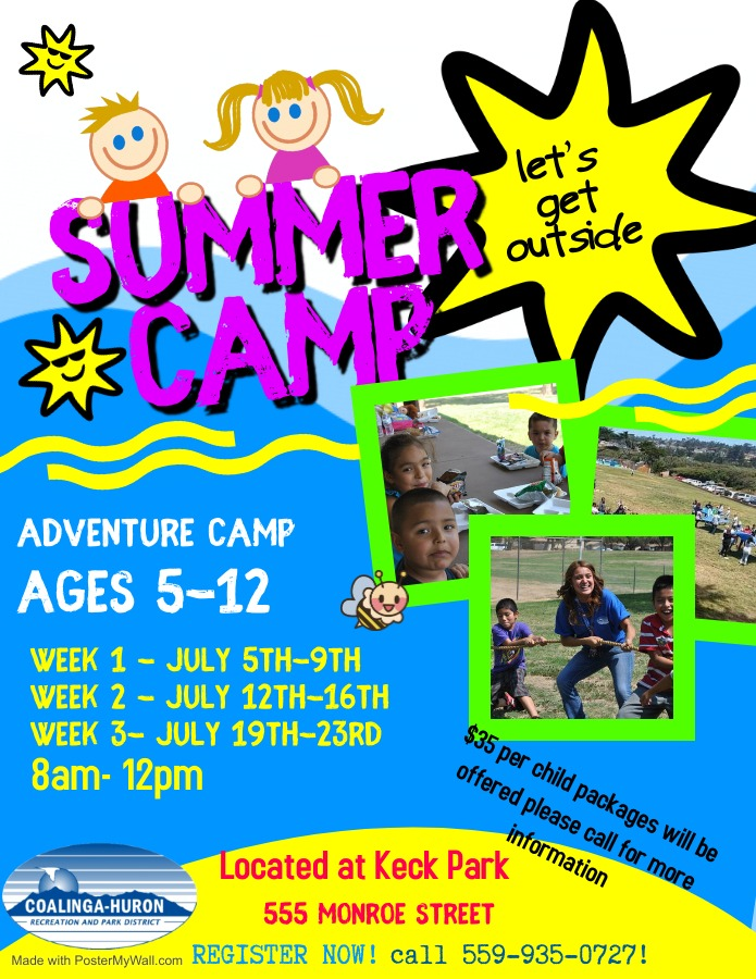 KECK SUMMER DAY CAMPS