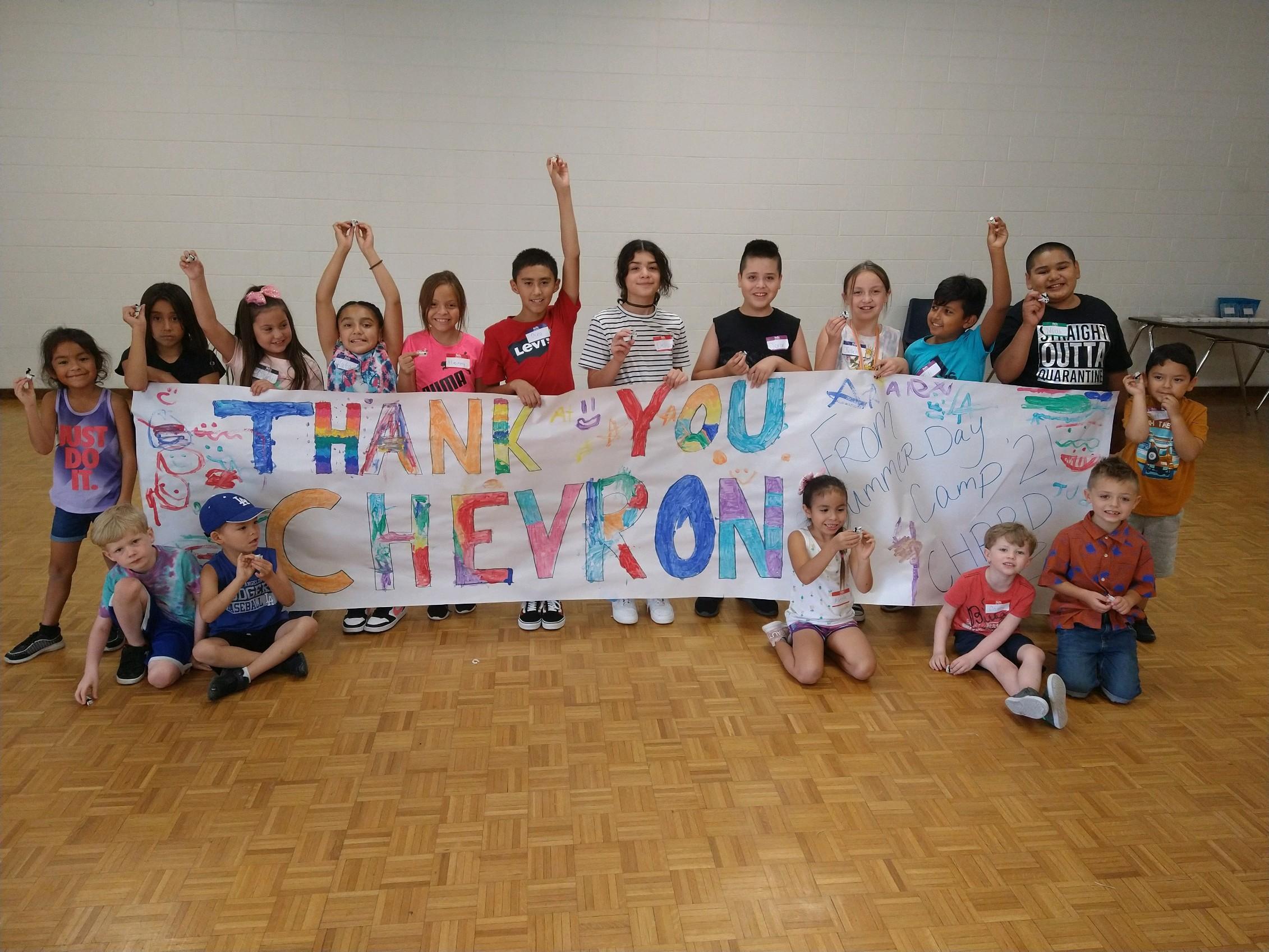 Coalinga Kids Day Camp Thank you